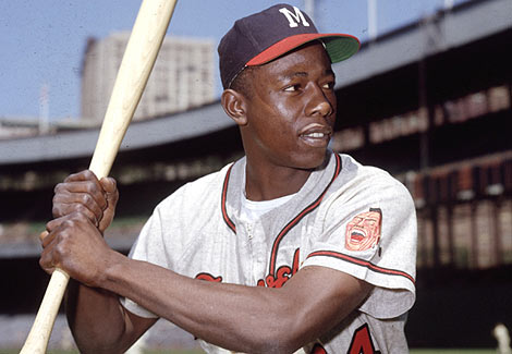 Hank Aaron - Private Signing @ St. Louis | Missouri | United States